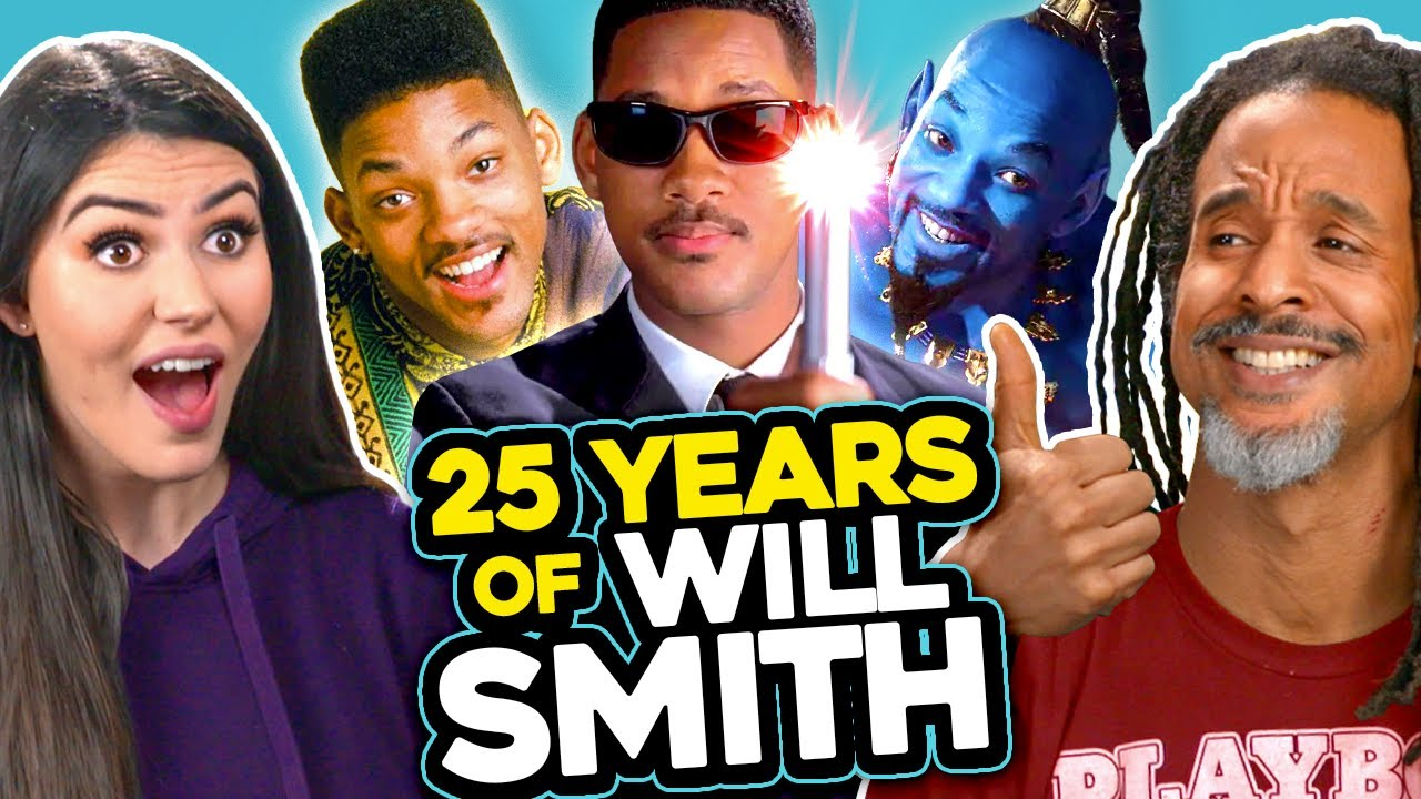 Is Will Smith Ageless? | 25 Years Of Will Smith Challenge