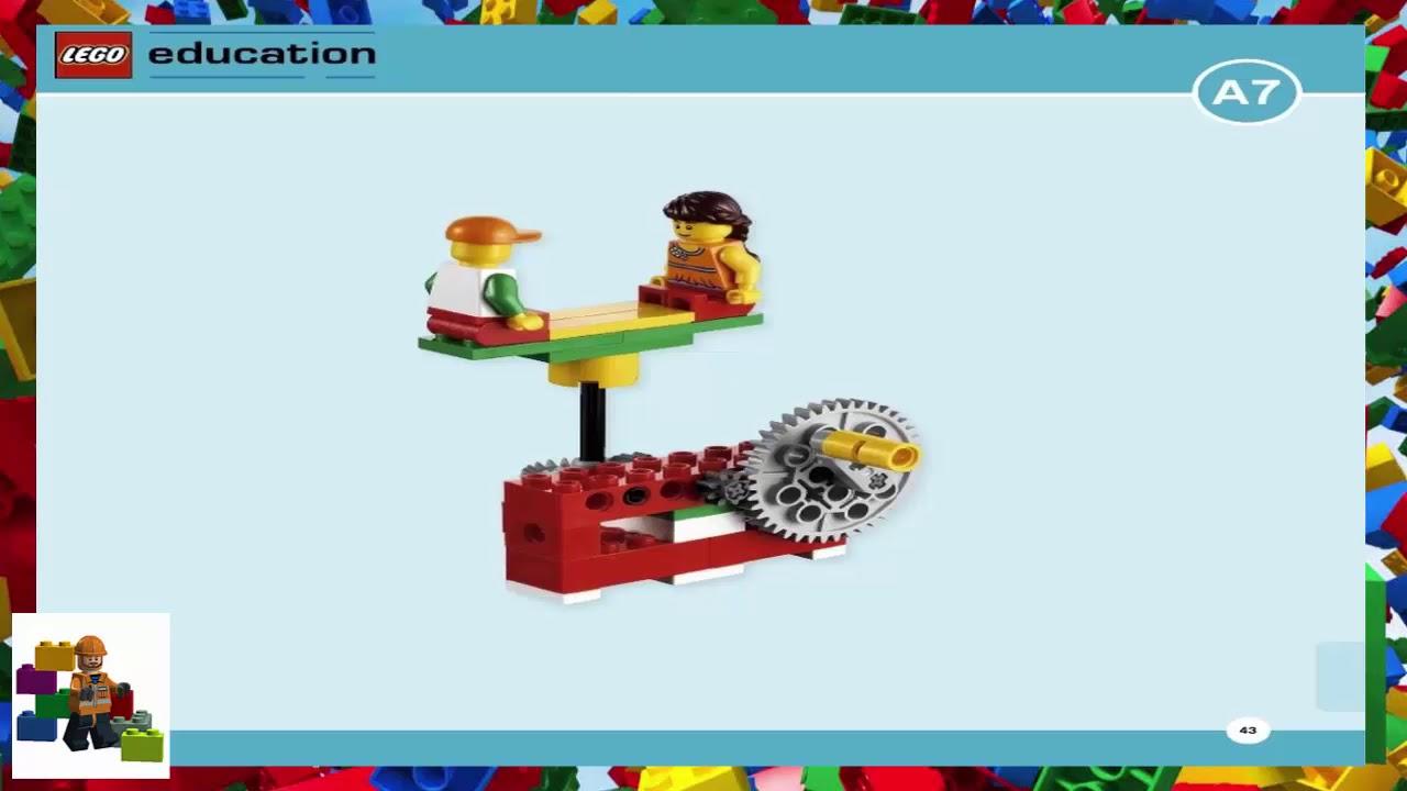 LEGO instructions - Education - 9689 - Gears