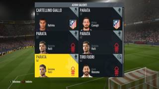FIFA17 seire A  Atletico Madrid - Nottingham Forest 2 - 0