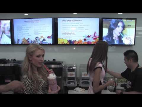 Paris Hilton Shakes up Shanghai with A-List Chinese Stars — Opens 'Millions of Milkshakes'