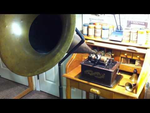 JEFF DIAMOND MP3 TO BROWN WAX CYLINDER