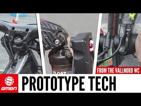 Prototype Downhill And Cross Country Tech From The Vallnord Pits