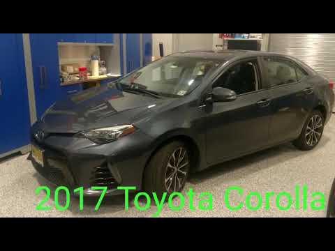 2017 Toyota Corolla Remote Start System