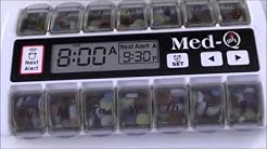 How the Electronic Pill Box Dispenser - MedQ Works