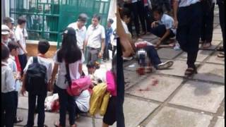 Nữ sinh lớp 9 mang theo dao lên lớp rồi đâm nữ sinh cùng trường nhập viện do ghen tuông