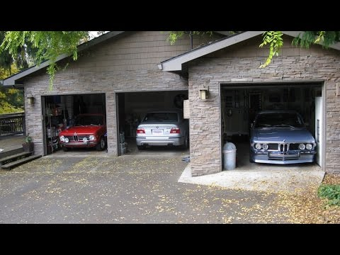Do it yourself 2 car garage dimensions youtube for How large is a 2 car garage