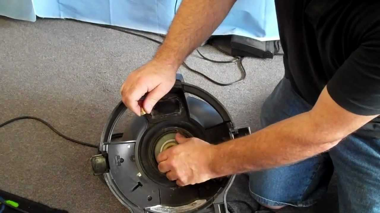 REPAIR CHECK BELT ON RAINBOW VACUUM CLEANER AT VAC DOC MODESTO