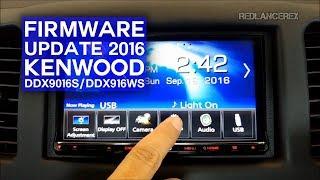 Kenwood - 2016 Update Firmware Guide (DDX9016S/DDX916WS)