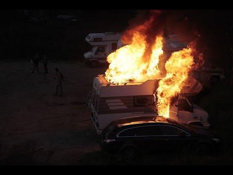 Incendio Autocaravana en el Muiño de A Veiga