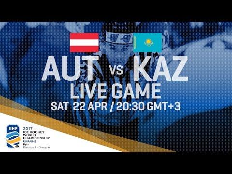 Austria - Kazakhstan | Full Game | 2017 IIHF Ice Hockey World Championship Division I Group A
