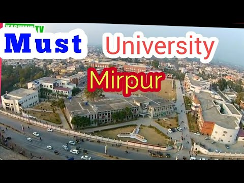Must University Mirpur azad kashmir