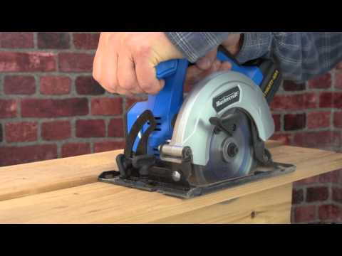 The Mastercraft 20-volt Lithium-Ion Cordless Circular Saw From Canadian Tire