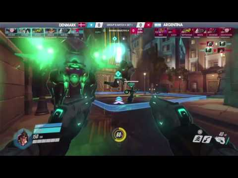 DENMARK vs ARGENTINA | | Shanghai Group Stage | Overwatch World Cup