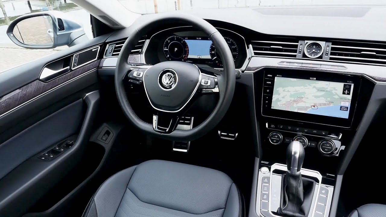 2017 volkswagen arteon elegance interior youtube. Black Bedroom Furniture Sets. Home Design Ideas
