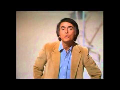 Carl Sagan - Outside the visible light spectrum