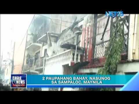 Fire in Sampaloc, Manila