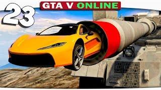 ч.23 Один день из жизни в GTA 5 Online - ИСПЫТАНИЕ БОМЖЕЙ