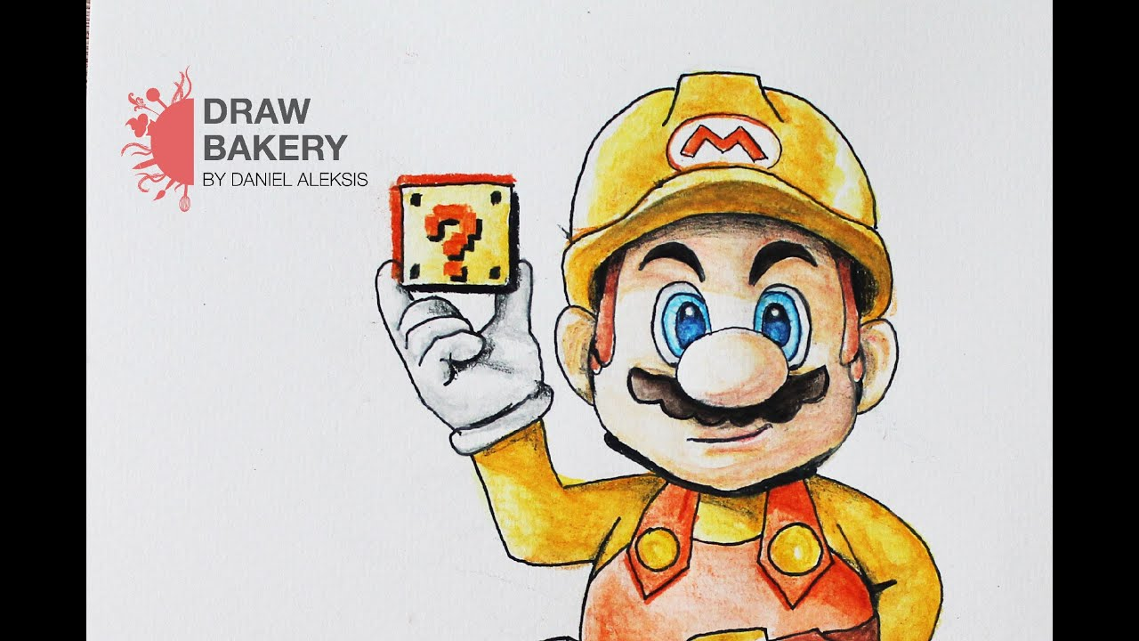 Speed Drawing: Super Mario Maker - YouTube