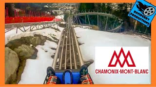 Chamonix Luge Alpine Coaster 1.3km Mont Blanc - No Brakes Needed :) SJCAM HD