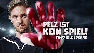 """Timo Hildebrand: """"Pelz ist kein Spiel"""" / PETA"""