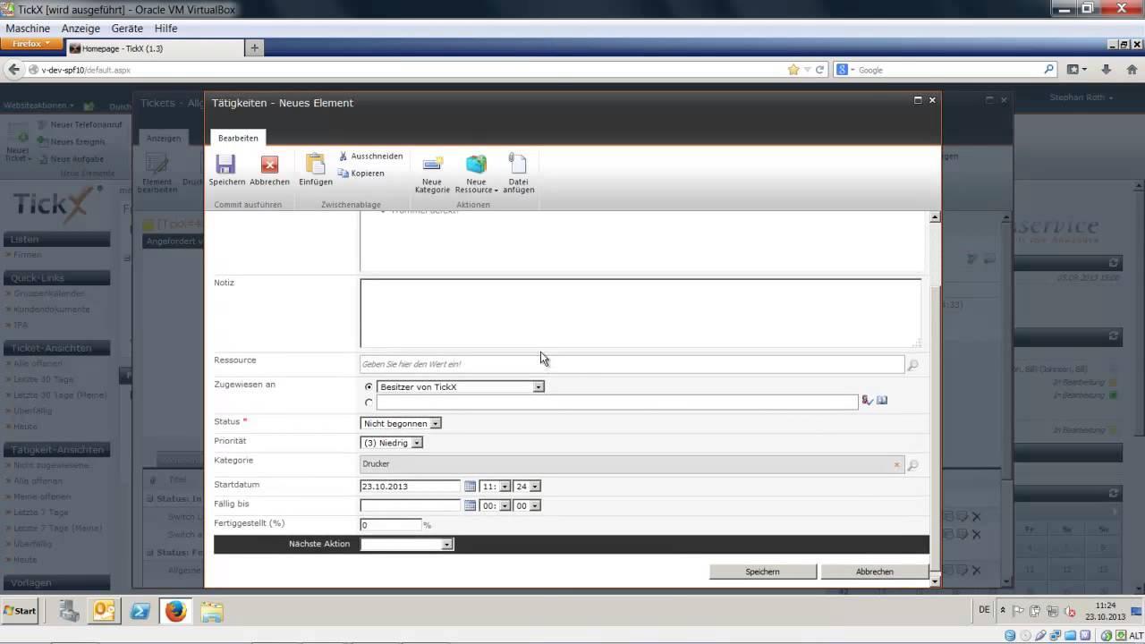 TickX für SharePoint - Tutorial Nr.13 - (Vorlagen in TickX) - YouTube