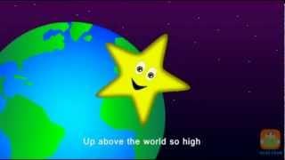 Twinkle Twinkle Little Star - Nursery Rhymes (with lyrics)