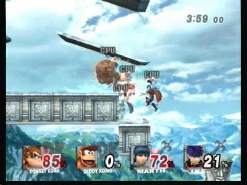 Retro Super Smash Bros Stages - Kongo Jungle (Melee)