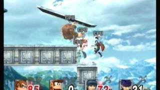 Retro Super Smash Bros Stages - Kongo Jungle (Melee)