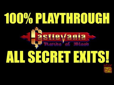 Rob Plays: Castlevania: Rondo of Blood 100% (No Commentary)