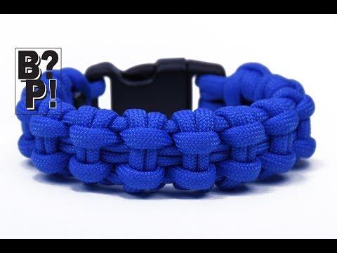 "Make the ""Chain Bar"" Paracord Survival Bracelet  - BoredParacord.com"