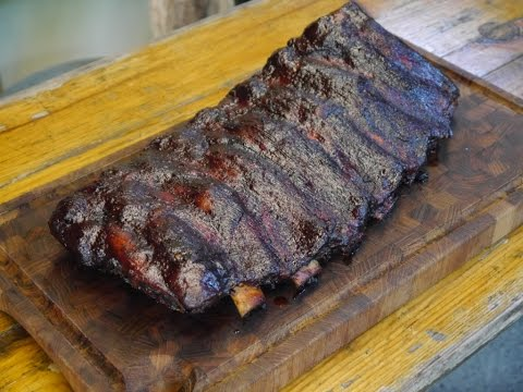 017 - BBQ Beef Ribs aus dem Monolith (Kamado recipe)