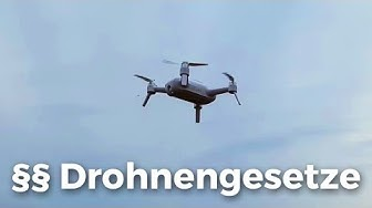 Die Drohnengesetze in Deutschland einfach erklärt!