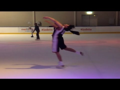 Cosplay on Ice - Kagami Taiga Figure Skates!??