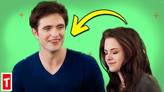 20 Twilight Saga Bloopers And Cute On Set Moments