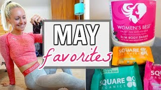 MAY FAVORITES! Fitness   Fashion   Beauty   Food