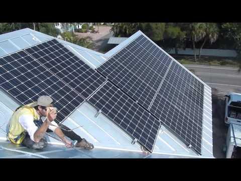 SOLAR ELECTRIC SYSTEM IN HOLMES BEACH, FLORIDA