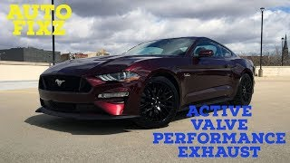 Auto Fixz 2018 Ford Mustang GT Active Valve Performance Exhaust
