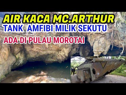 wisata-sejarah-pulau-morotai-air-kaca-dan-tank-amfibi