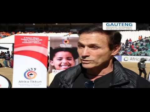 Gauteng's youth development initiatives