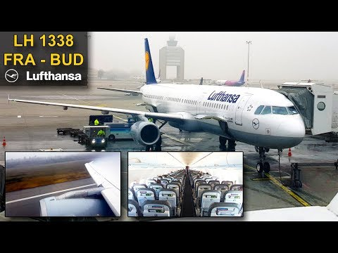 TRIP REPORT | Lufthansa | FRANKFURT - BUDAPEST | Airbus A321