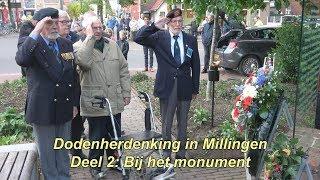 Dodenherdenking Millingen 2019 deel 2: Herdenking bij het monument