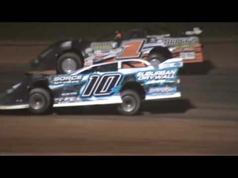 Lucky 7 Series Late Model Feature Luxemburg Speedway Luxemburg Wisconsin 6/3/16