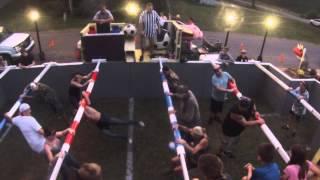 Human Foosball Tournament