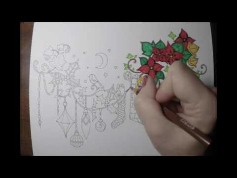 Christmas Trinkets Coloring Time Lapse!