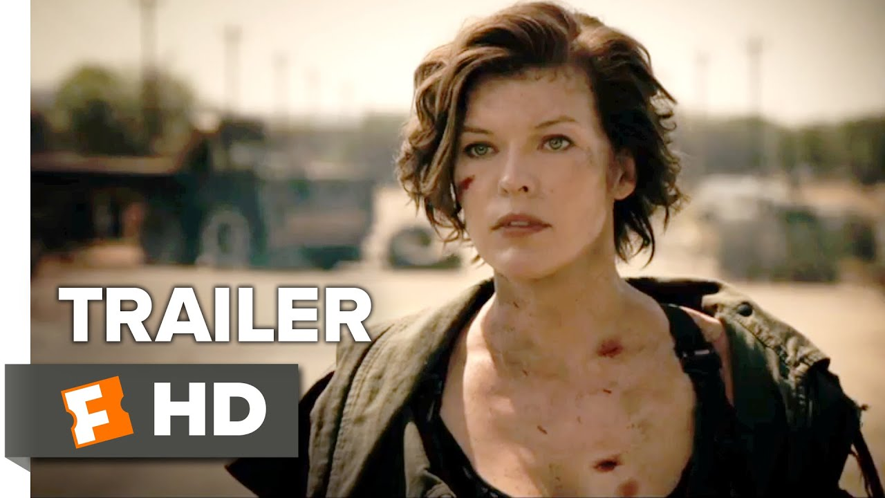 Resident Evil The Final Chapter Official Trailer 1 2017 Milla