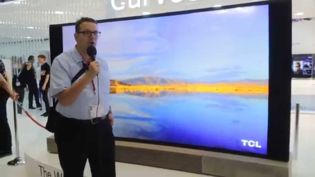 ifa 2014 riesen fernseher von tcl youtube. Black Bedroom Furniture Sets. Home Design Ideas