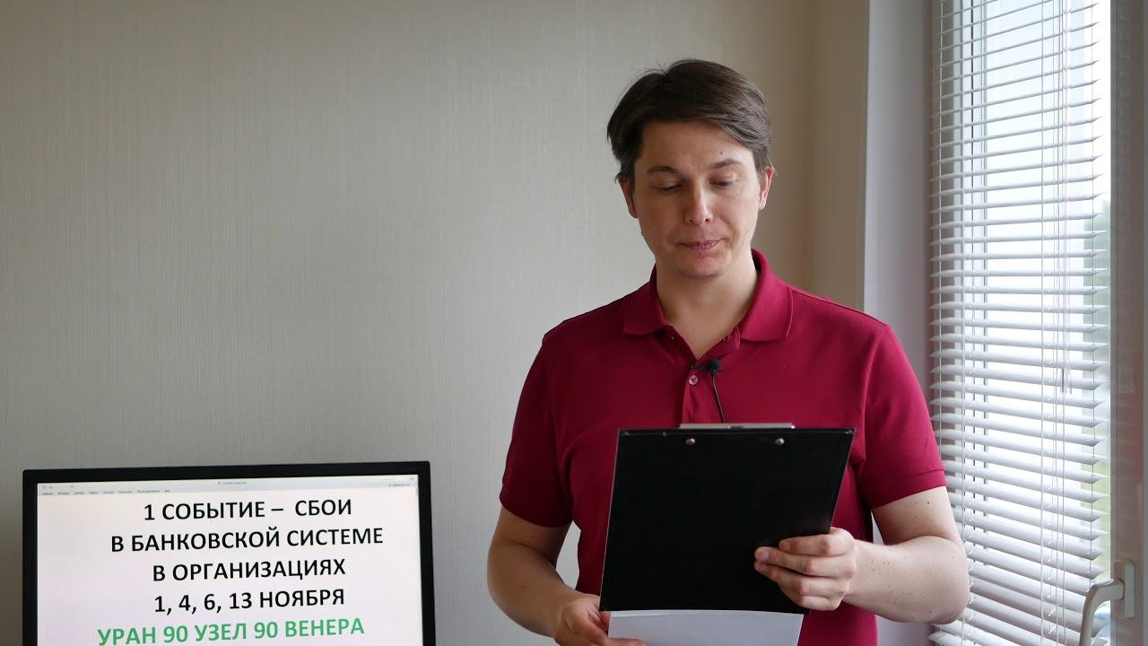 РАК 1 событие 1, 4, 6, 13 ноября Гороскоп