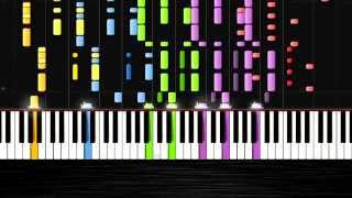 Avicii - Wake Me Up - IMPOSSIBLE REMIX by PlutaX - Synthesia - Piano