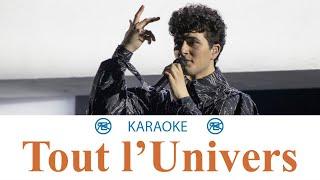 Gjon's Tears - Tout l'Univers   Karaoké, instrumental cover (Switzerland 🇨🇭 - Eurovision 2021)