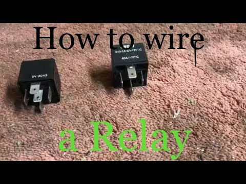 How to Wire a Relay (12V relays and how they work)